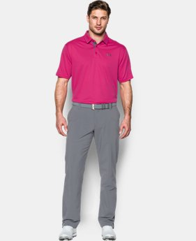 Men's UA Leaderboard Polo LIMITED TIME OFFER + FREE U.S. SHIPPING 1 Color $39.99