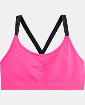 Girls' UA Seamless Sports Bra