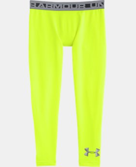 Boys' UA ColdGear® Armour Fitted Leggings