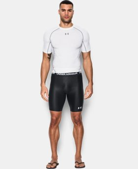 Men's UA Essential Compression Short Rashguard   $39.99