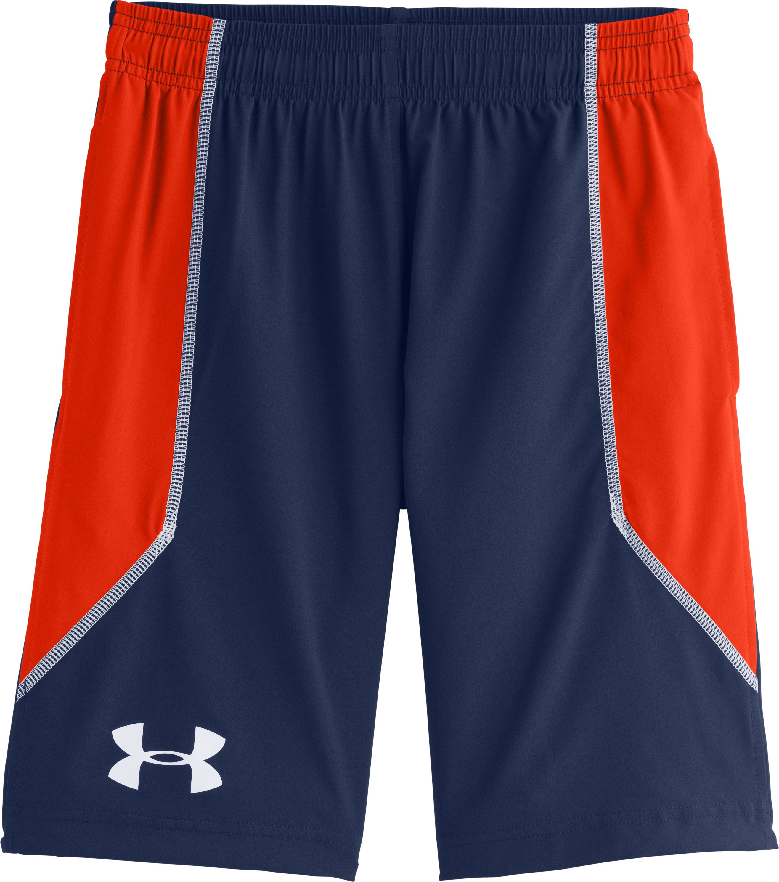 Boys' UA Intensity Shorts, DEEP SPACE BLUE, Laydown