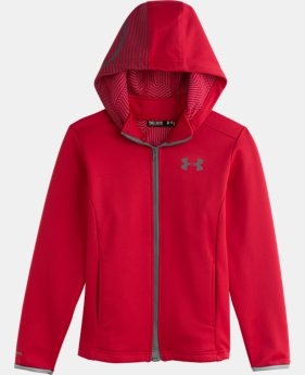 Boys' UA Storm ColdGear® Infrared MagZip Jacket