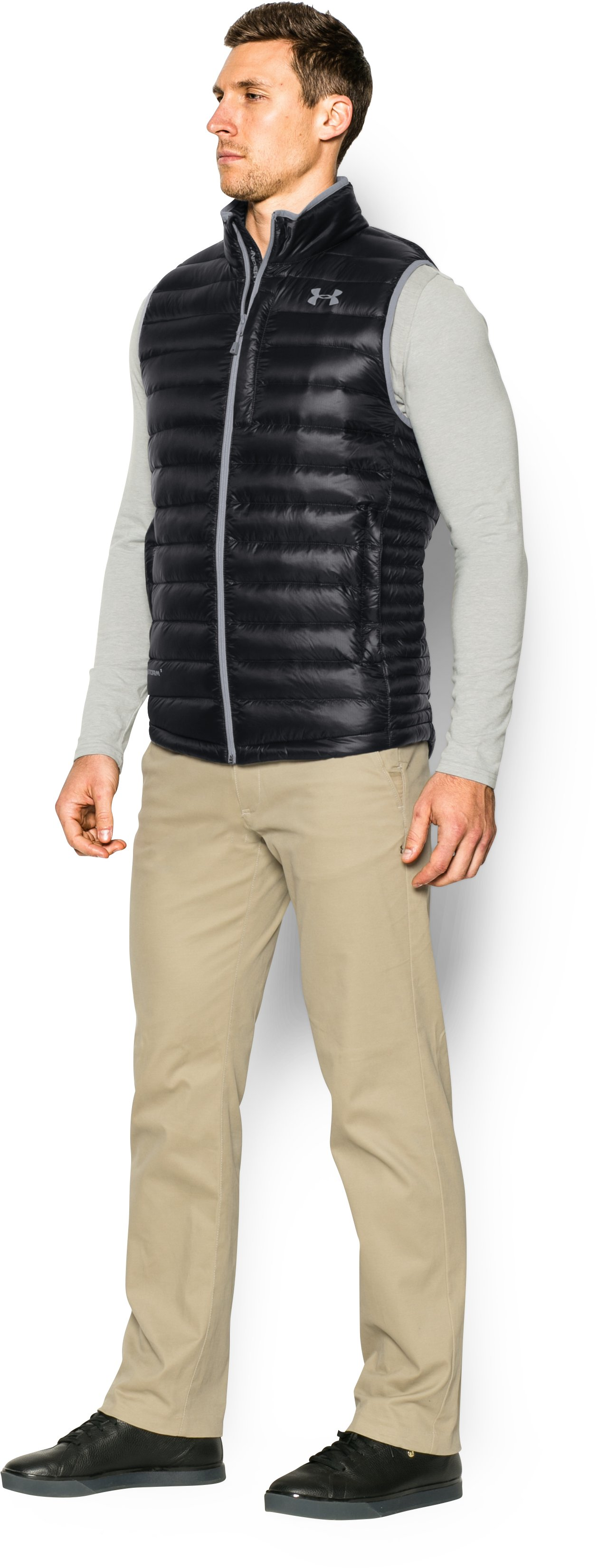 Men's UA Storm ColdGear® Infrared Turing Vest, Black , undefined