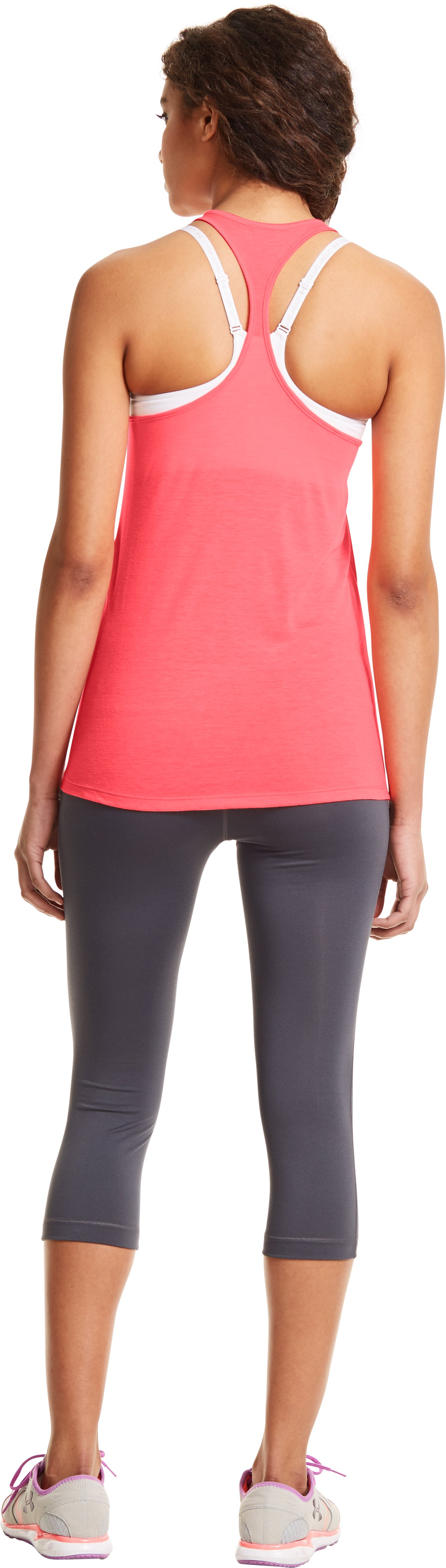 Women's UA Achieve T-Back Tank, BRILLIANCE, Back