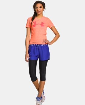 Women's UA Charged Cotton® Tri-Blend UA Big Logo V-Neck LIMITED TIME: FREE U.S. SHIPPING 1 Color $18.99