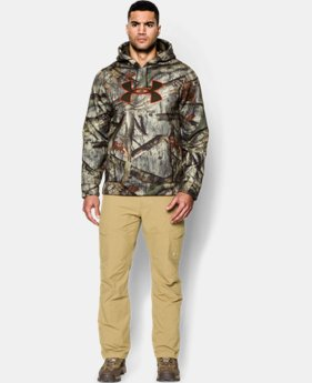 Men's Armour® Fleece Camo Big Logo Hoodie