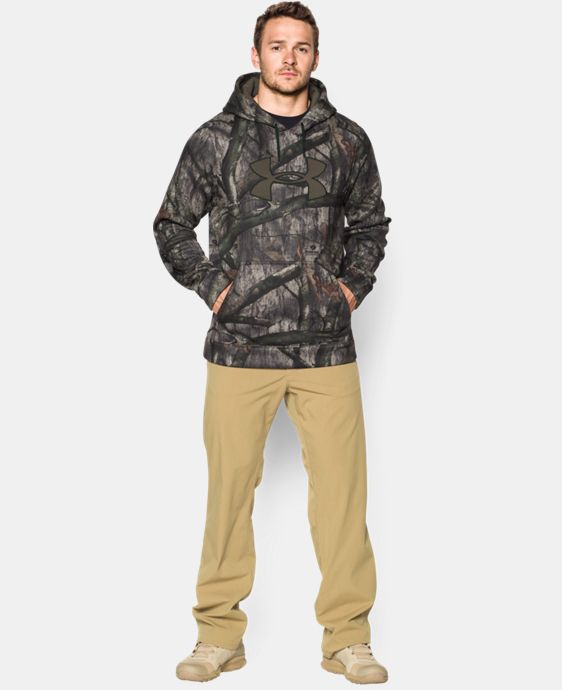 Men's Armour® Fleece Camo Big Logo Hoodie LIMITED TIME OFFER + FREE U.S. SHIPPING 4 Colors $42.18 to $56.24