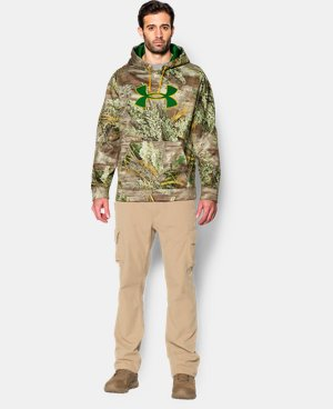 Men's Armour® Fleece Camo Big Logo Hoodie LIMITED TIME OFFER + FREE U.S. SHIPPING  $42.18 to $56.24