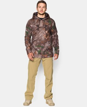 Men's Armour® Fleece Camo Big Logo Hoodie LIMITED TIME: FREE U.S. SHIPPING  $42.18 to $56.24