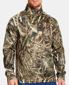 Men's UA Camo Performance ¼ Zip