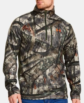 Men's UA Camo Performance ¼ Zip LIMITED TIME: FREE U.S. SHIPPING 2 Colors $44.99 to $59.99