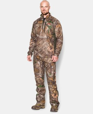 Men's UA Camo Performance ¼ Zip  1 Color $59.99