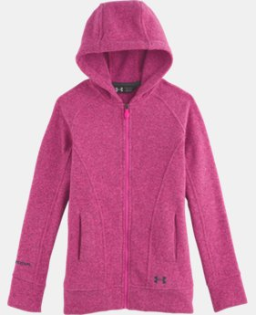 Girls' UA Wintersweet Full Zip Hoodie