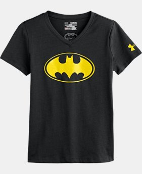 Girls' UA Batgirl V-Neck