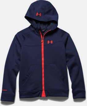 Boys' UA Storm ColdGear® Infrared Softershell Hoodie