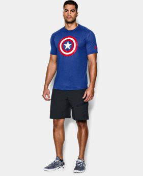 Men's Under Armour® Alter Ego Captain America Core T-Shirt LIMITED TIME: FREE SHIPPING 1 Color $34.99