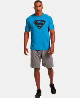 Men's Under Armour® Alter Ego Neon Superman T-Shirt