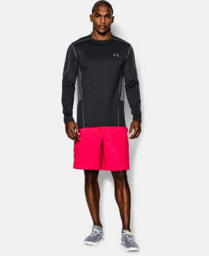 Men's UA ColdGear® Evo Fitted Hybrid Mock   $33.74
