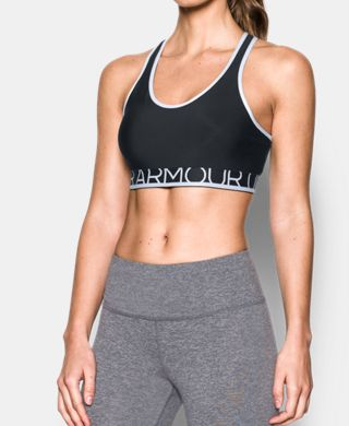 Women's Armour Sports Bra-Mid w/Cups