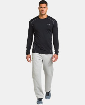 Men's UA ColdGear® Evo Fitted Crew LIMITED TIME: FREE U.S. SHIPPING 2 Colors $28.49 to $29.99