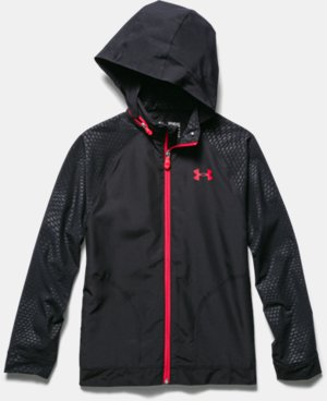 Boys' UA Front9 Wind Jacket  1 Color $48.99