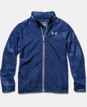 Boys' UA Front9 Wind Jacket