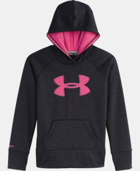 Girls' UA Big Logo Armour® Fleece Hoodie