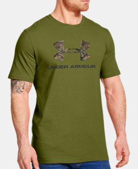 Men's UA Camo Fill Logo T-Shirt LIMITED TIME: FREE U.S. SHIPPING 2 Colors $14.99 to $19.99