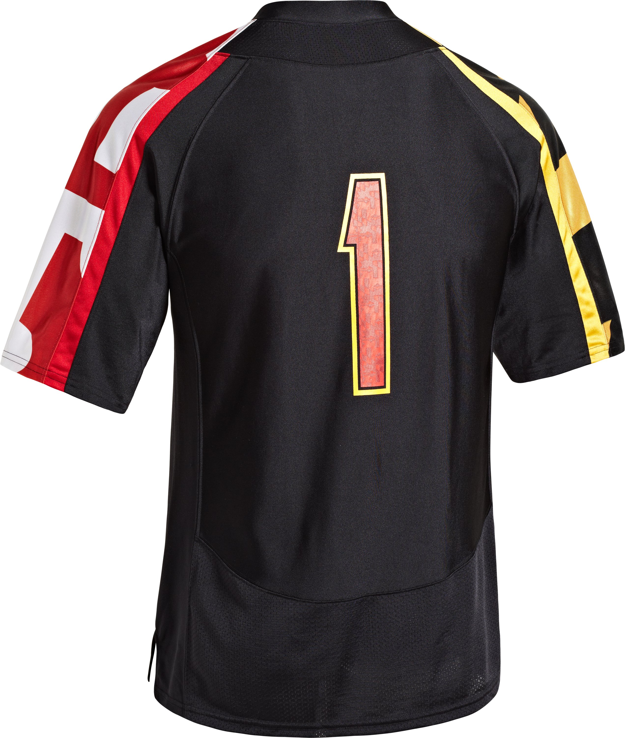 Men's UA Maryland Pride Replica Jersey, Black , Back