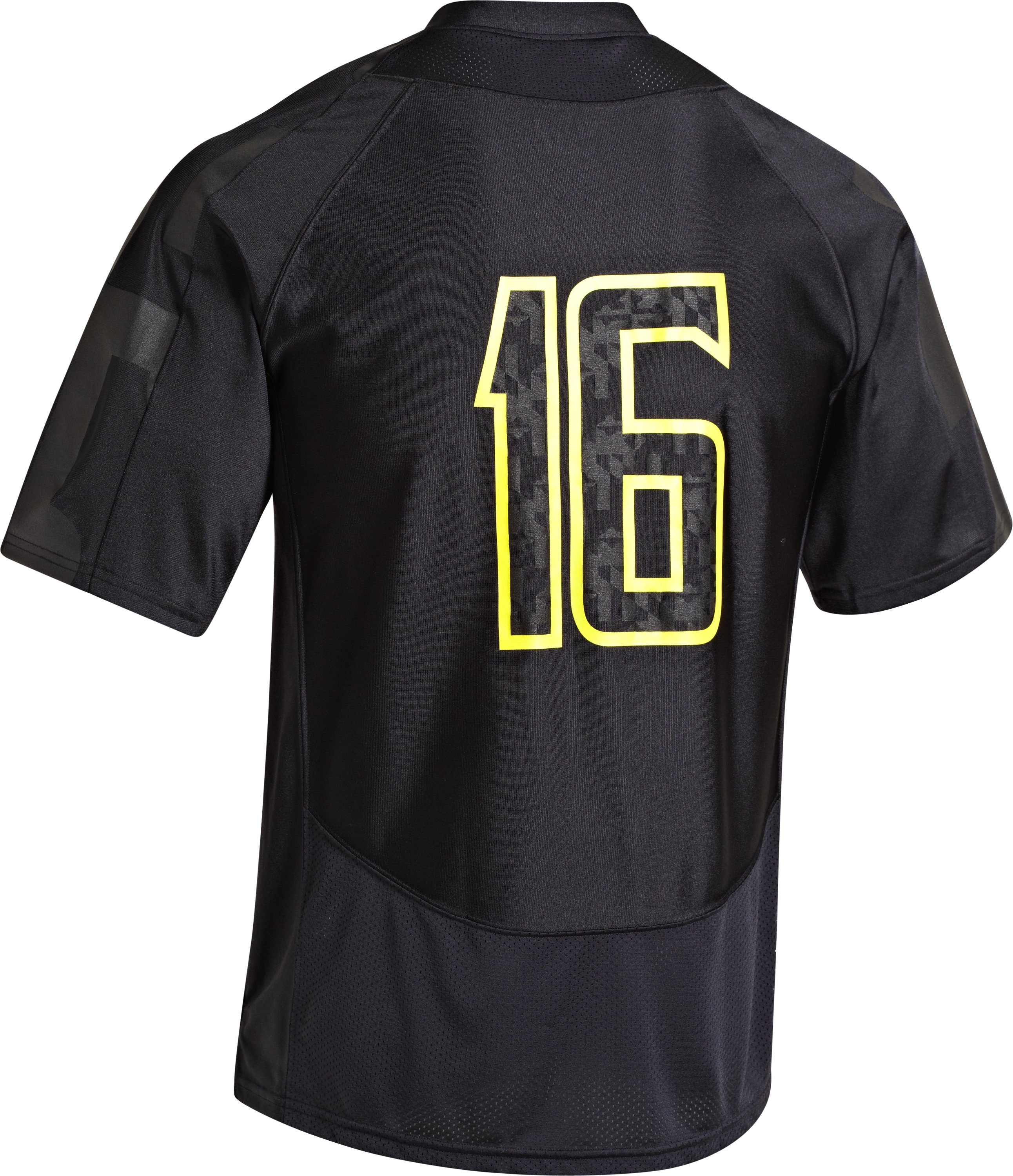 Men's UA Maryland Black Ops Replica Jersey, Black , Back