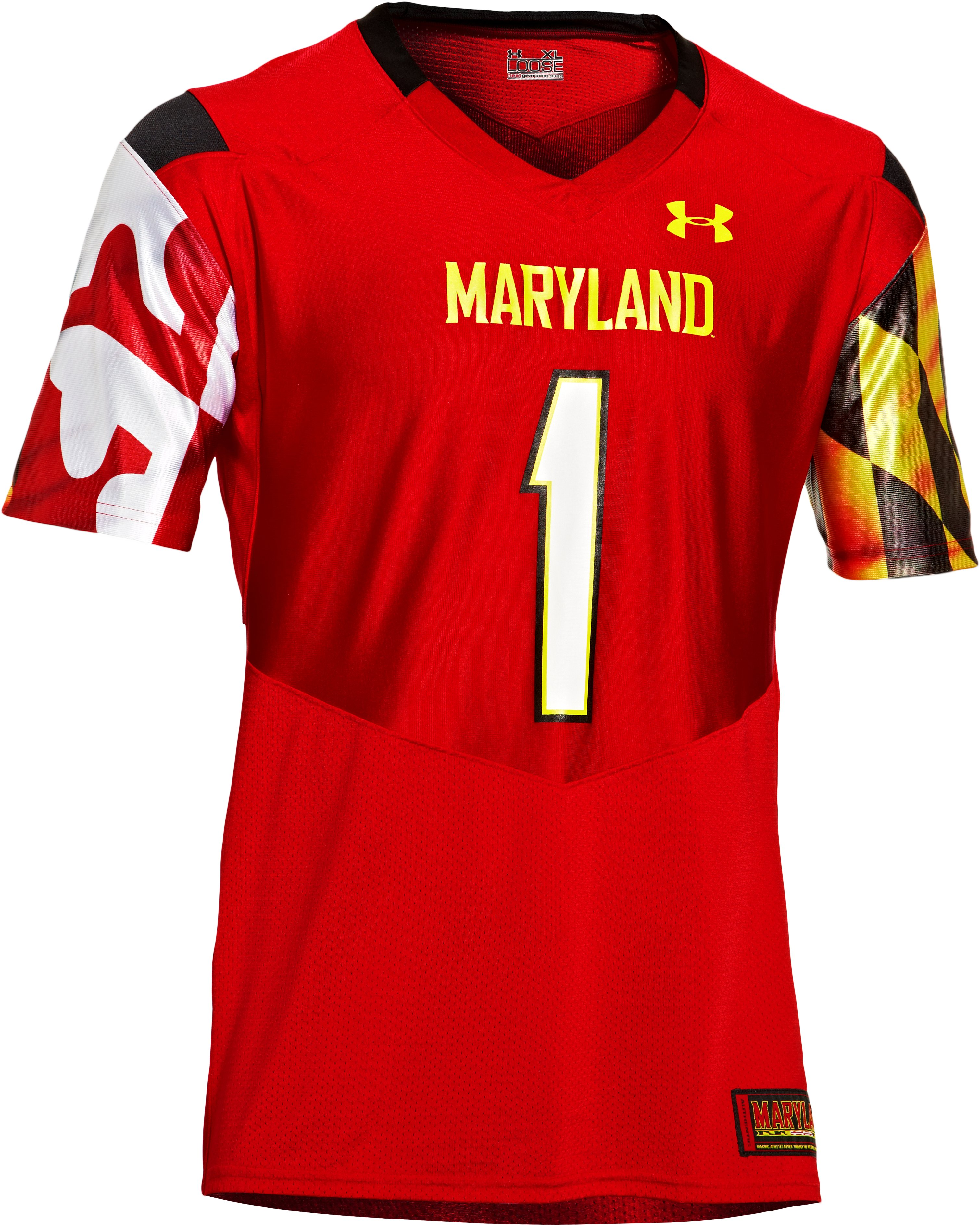Men's UA Maryland Pride Replica Jersey, Red