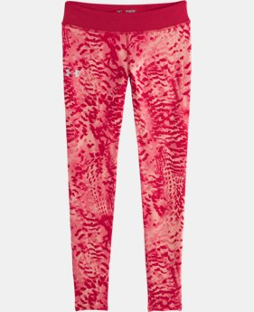 Girls' HeatGear® Armour Printed Legging