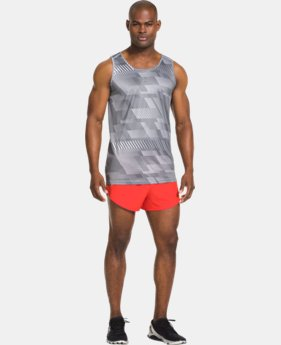 Men's UA HeatGear® Flyweight Run Singlet