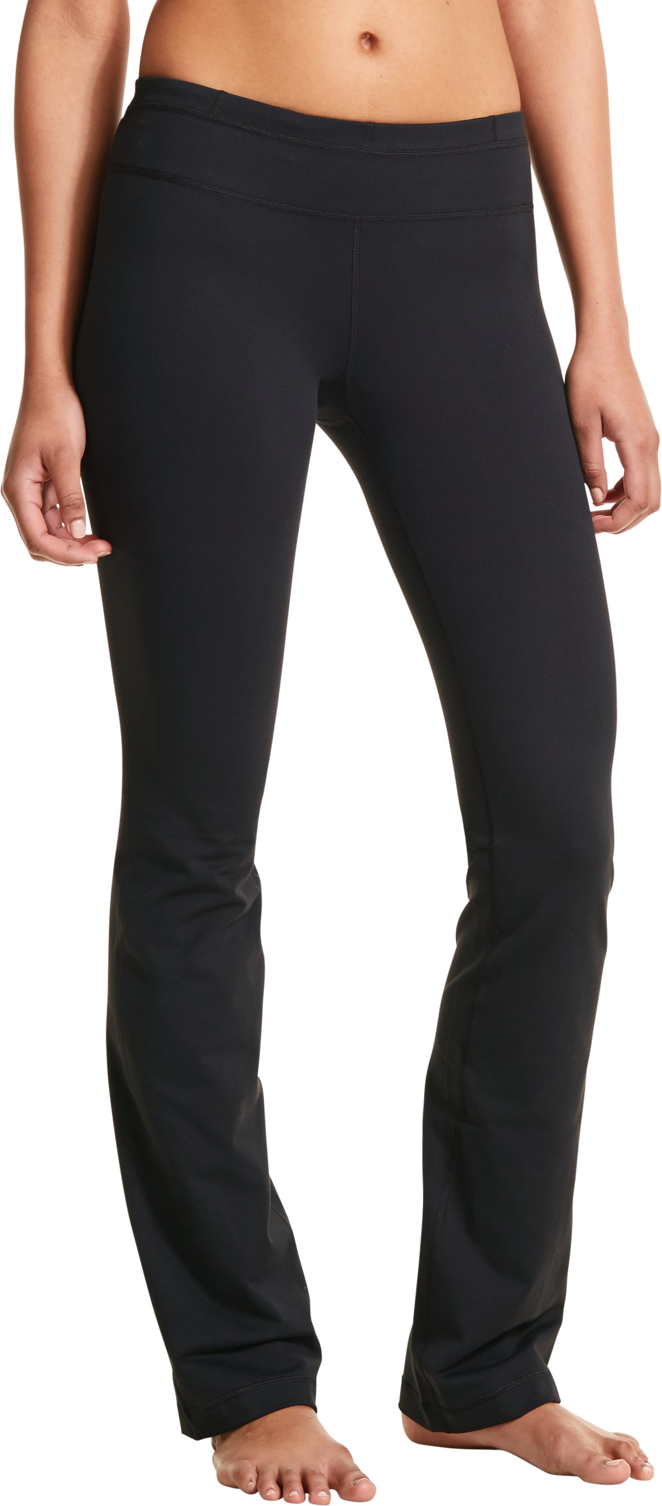 Women's UA StudioLux® Quattro Bootcut Pants, Black , zoomed image
