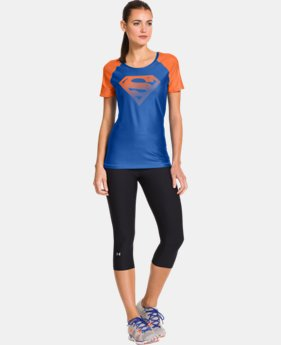 Women's Under Armour® Alter Ego HeatGear® Sonic Supergirl T-Shirt