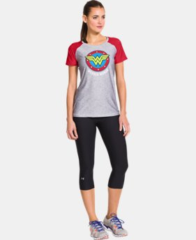 Women's Under Armour® Alter Ego HeatGear® Sonic Wonder Woman T-Shirt