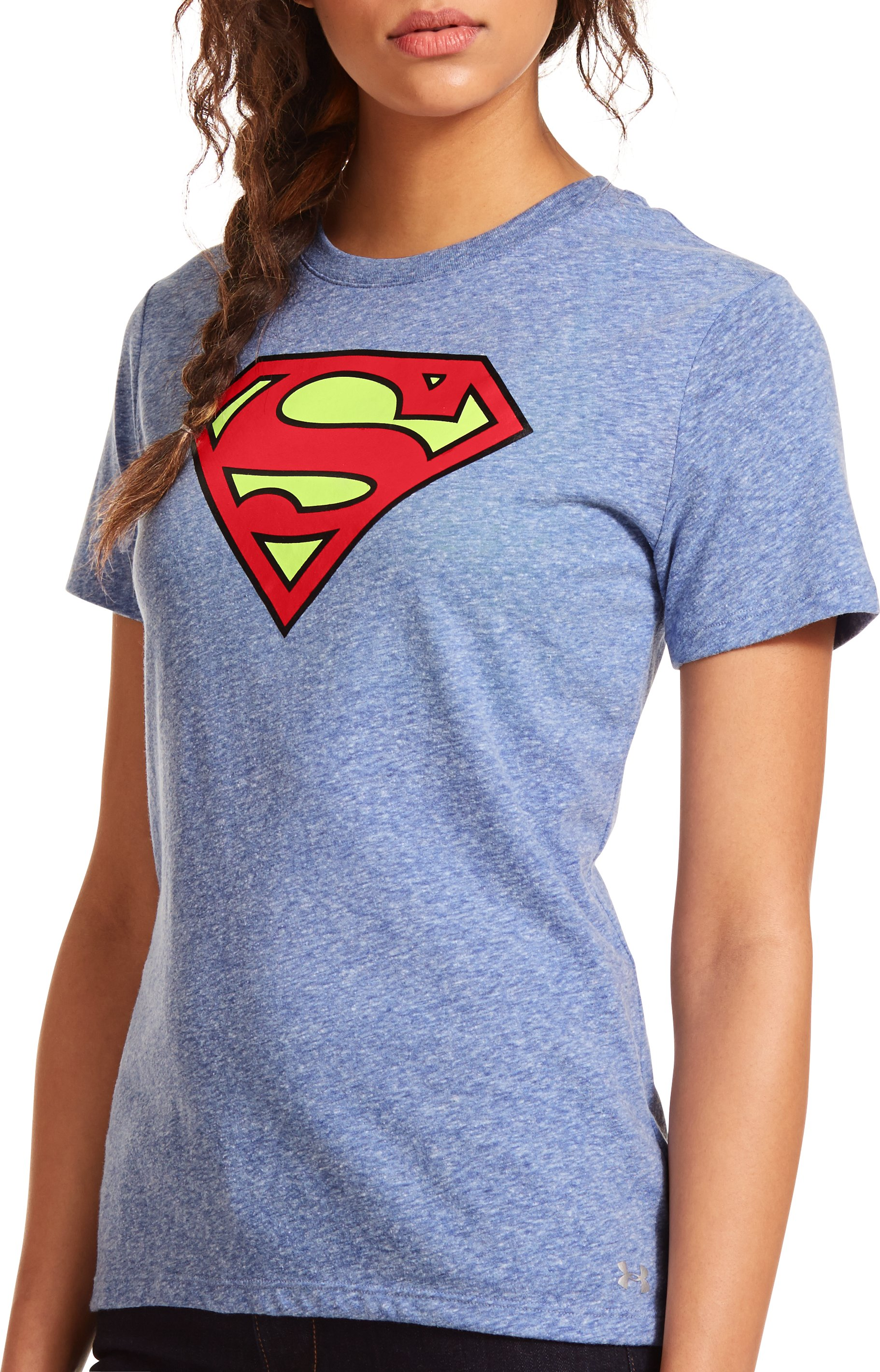 Women's Under Armour® Alter Ego Supergirl T-Shirt, Royal, Front