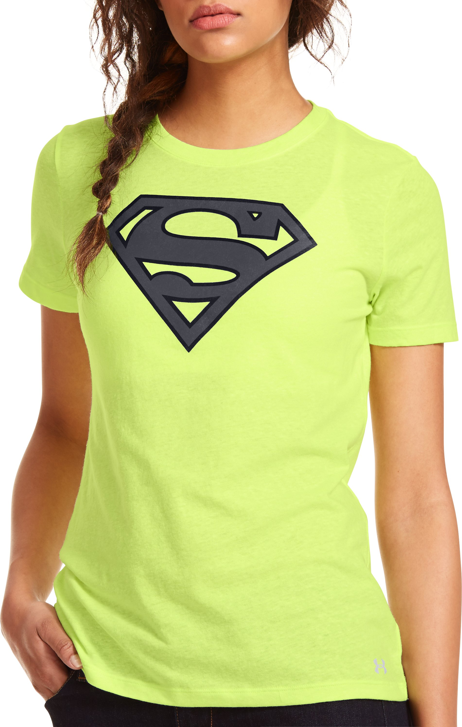 Women's Under Armour® Alter Ego Supergirl T-Shirt, X-Ray, Front