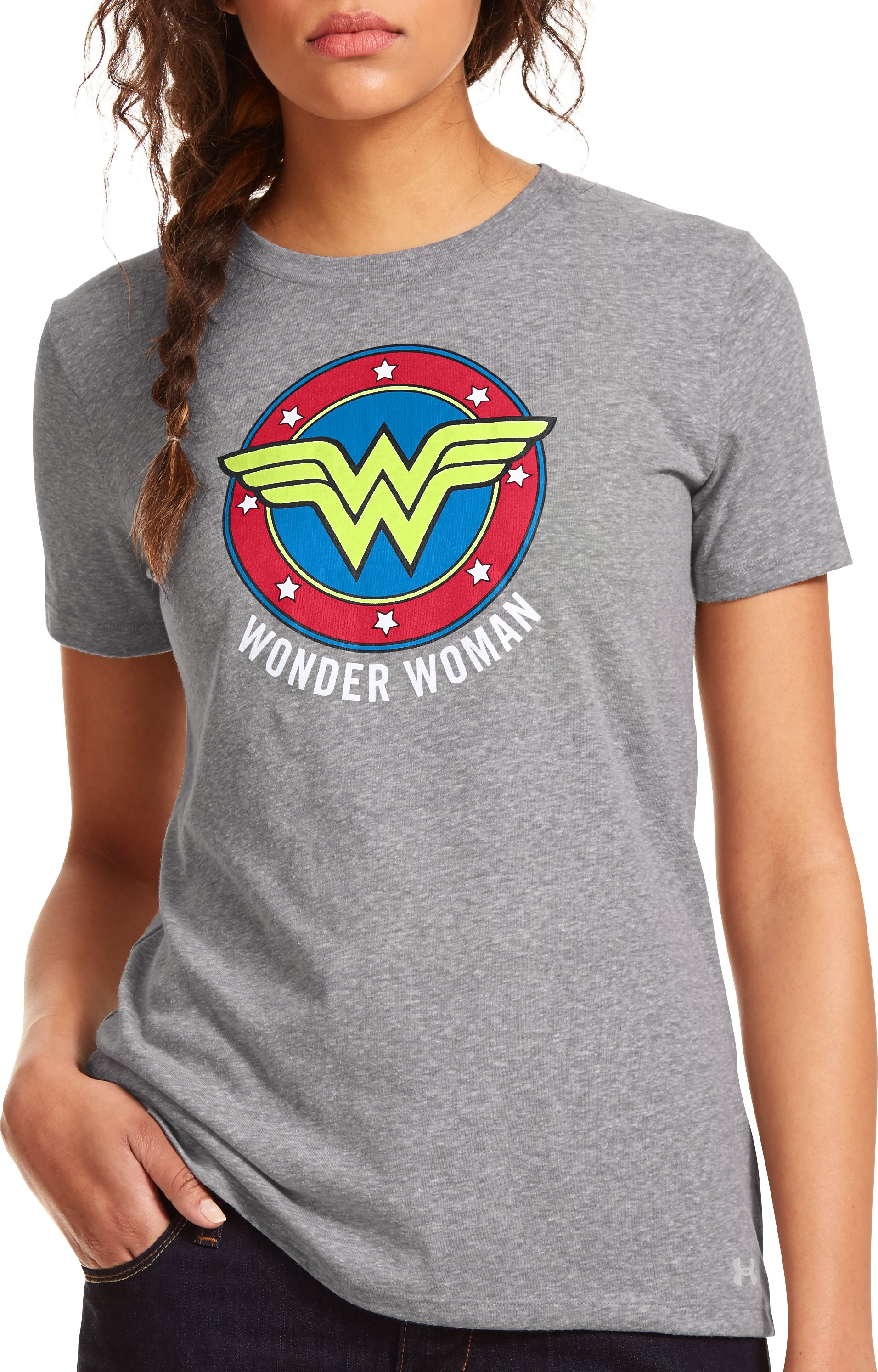 Women's Under Armour® Alter Ego Wonder Woman T-Shirt, True Gray Heather
