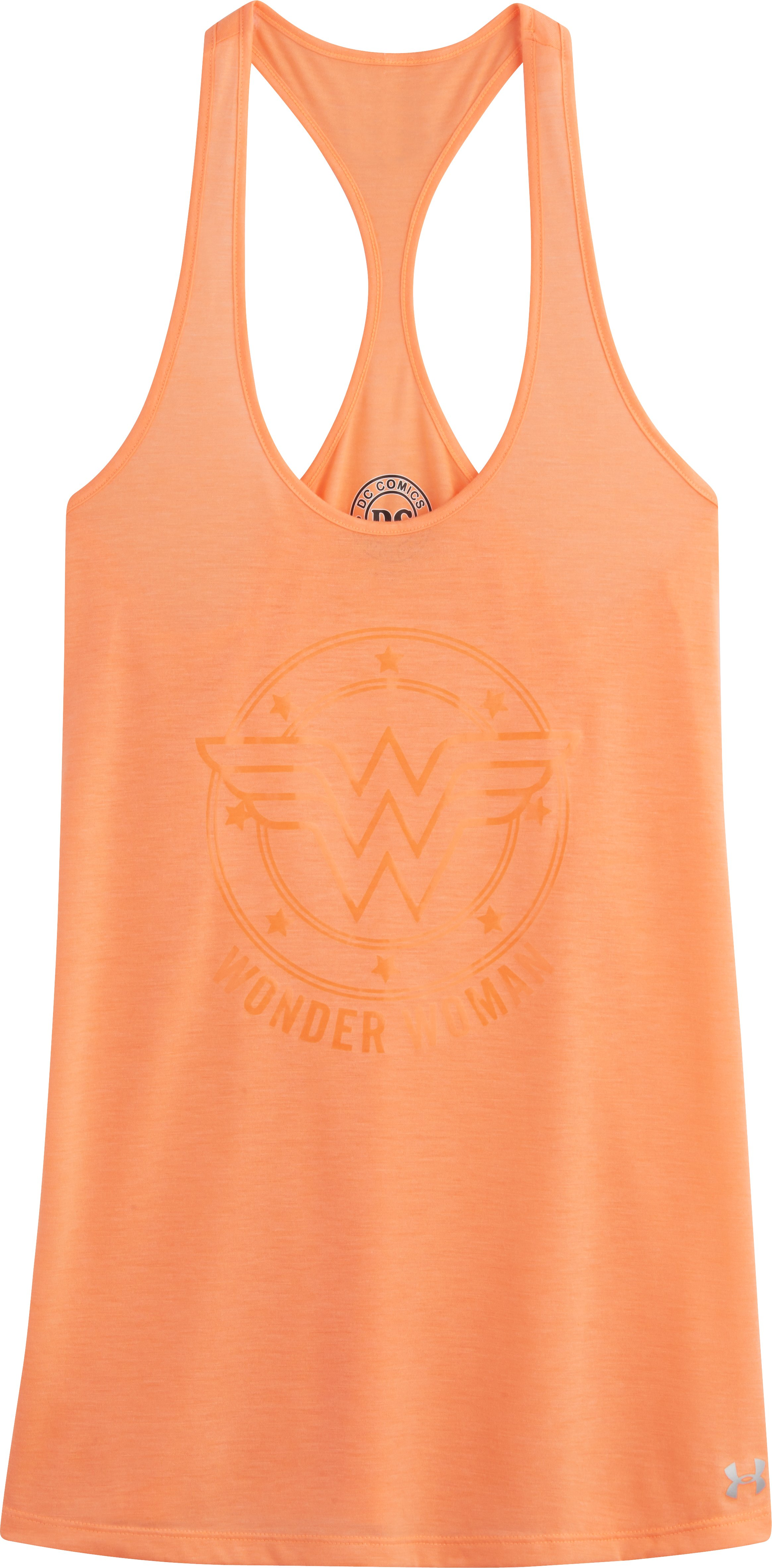 Women's Under Armour® Alter Ego Wonder Woman Tank, Afterglow, Laydown