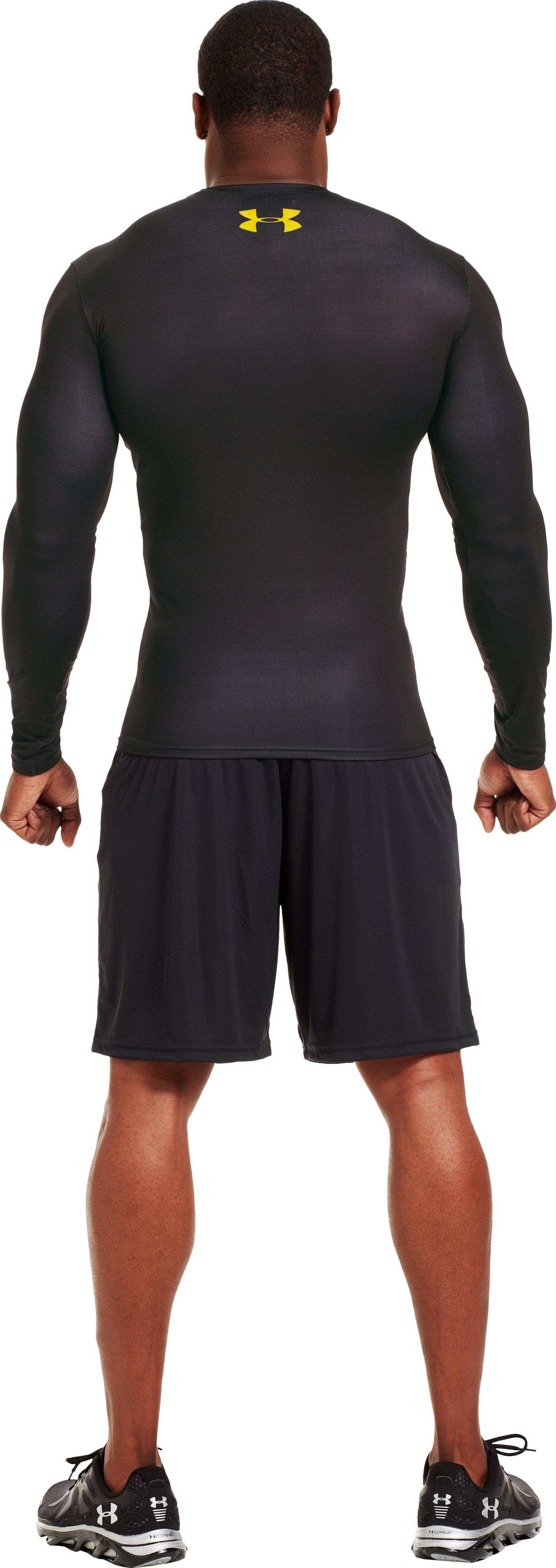Men's Under Armour® Alter Ego Compression Long Sleeve Shirt, Black , Back
