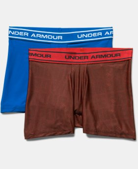 Boys' UA Original Series Printed Boxerjock® 2-Pack