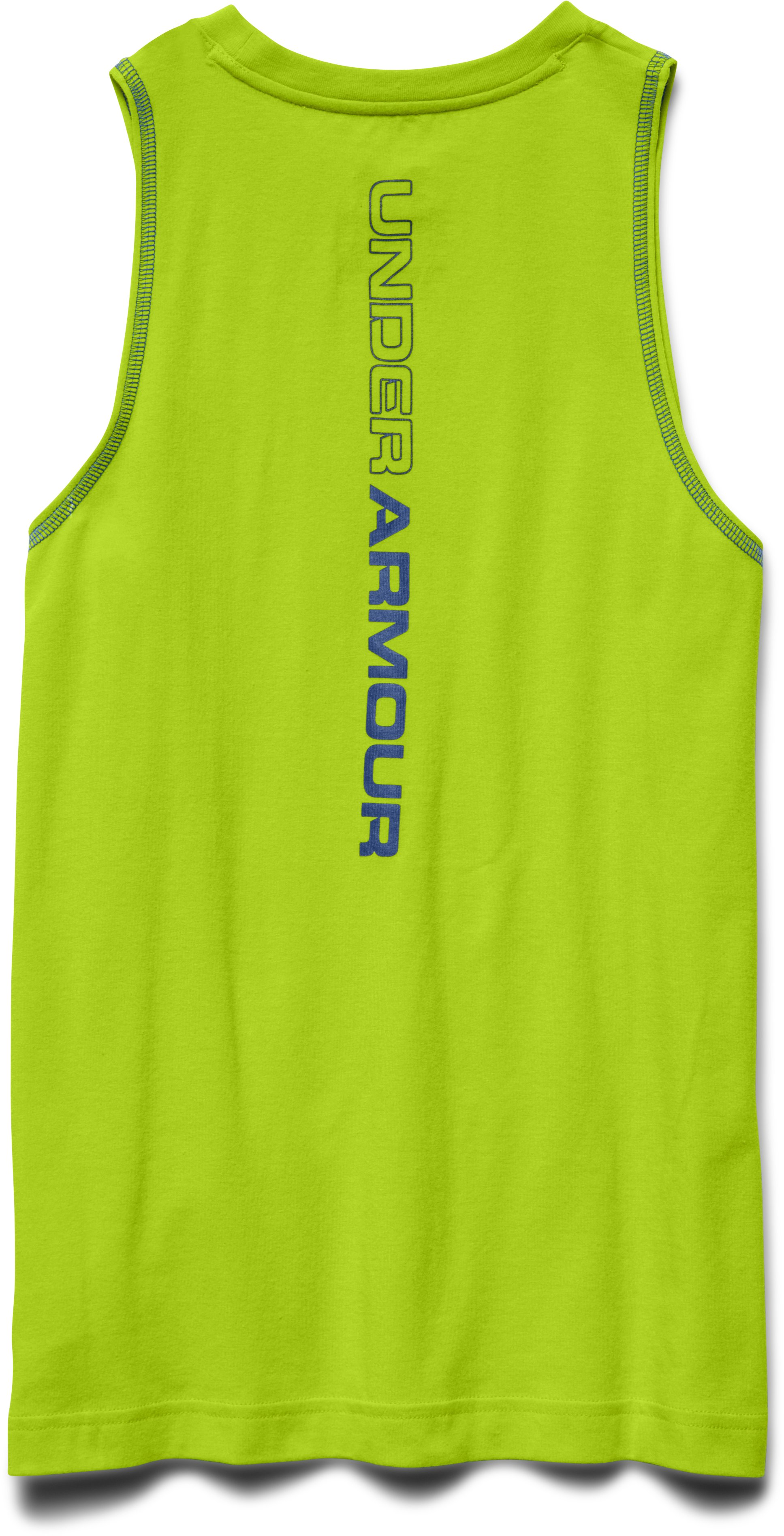 Boys' Charged Cotton® Tank, Velocity