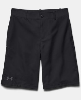 Boys' UA Medal Play Golf Shorts