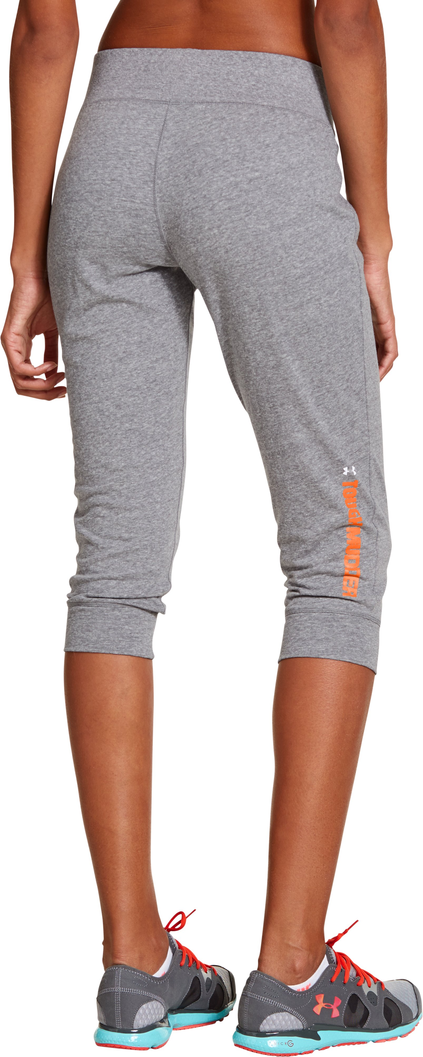 Women's Tough Mudder Charged Cotton® Legacy Capri, Charcoal