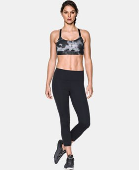 Women's Armour® Eclipse Mid — Printed Sports Bra  3 Colors $44.99