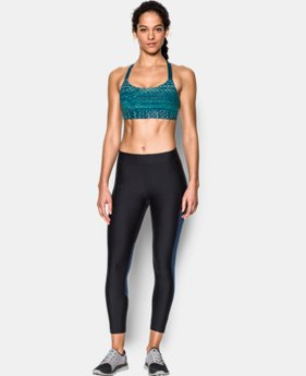 Women's Armour® Eclipse Mid — Printed Sports Bra  1  Color Available $33.99