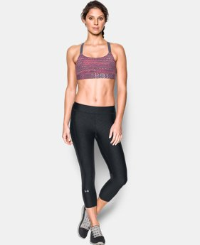 Women's Armour® Eclipse Printed Sports Bra  1 Color $44.99