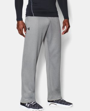 Best Seller  Men's Armour® Fleece In The Zone Pants  2 Colors $59.99