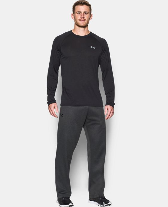 New Arrival  Men's Armour® Fleece In The Zone Pants  3 Colors $59.99